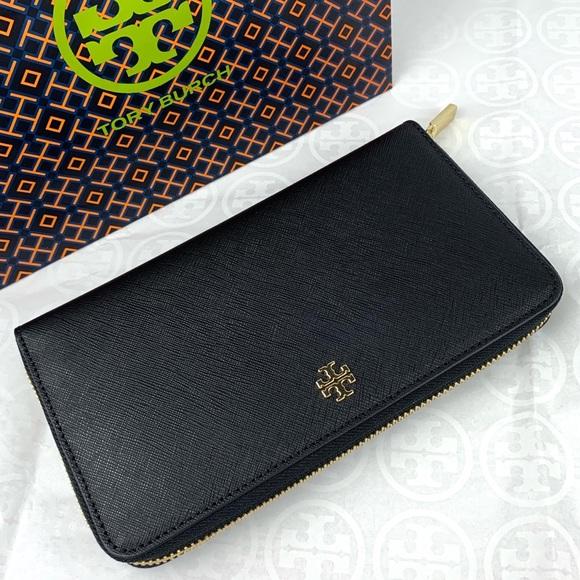 04bfc8f6786 Tory Burch Emerson Zip Around Continental Wallet